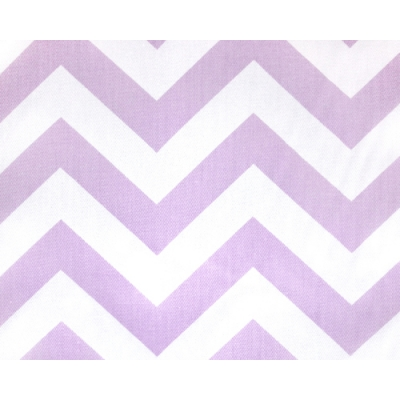 Liz and Roo Lavender Chevron Window Valance