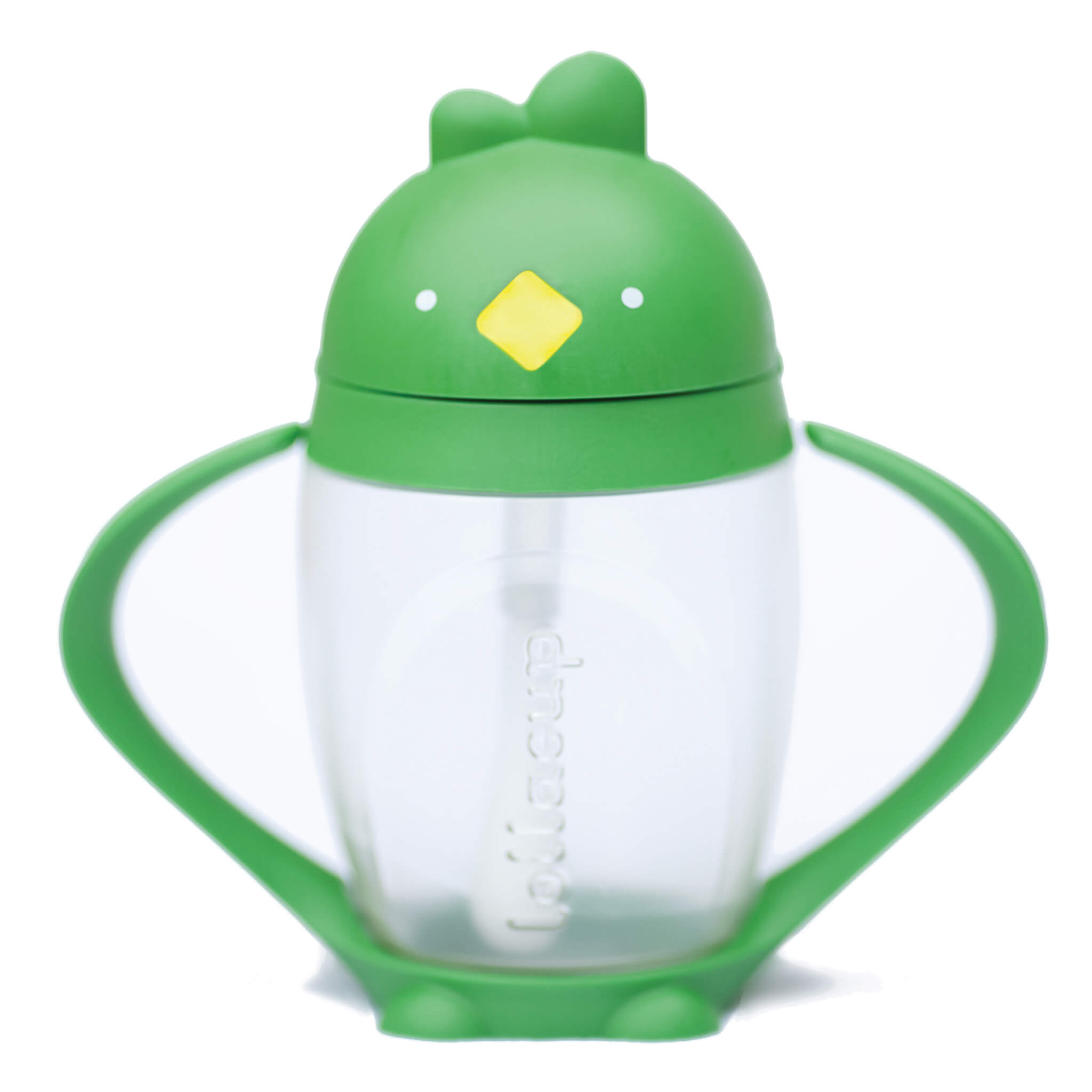 Lollaland Good Green Lollacup Toddler Straw Cup