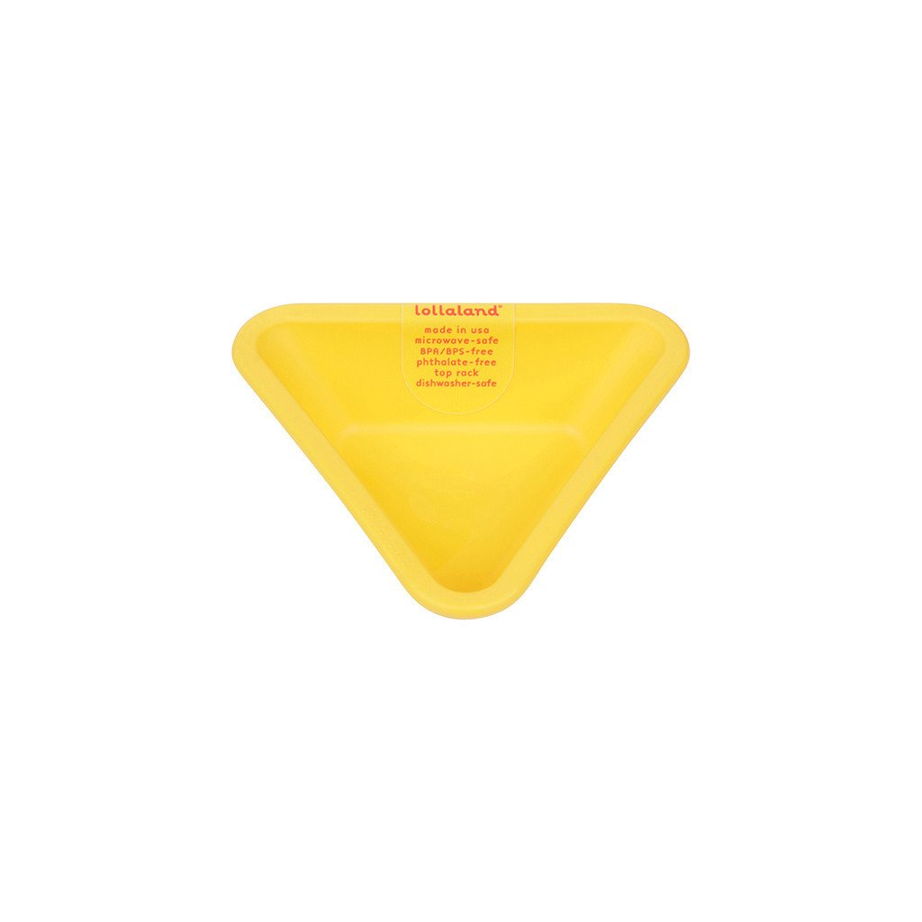 Lollaland Mealtime Set Dipping Cup, Chirpy Yellow