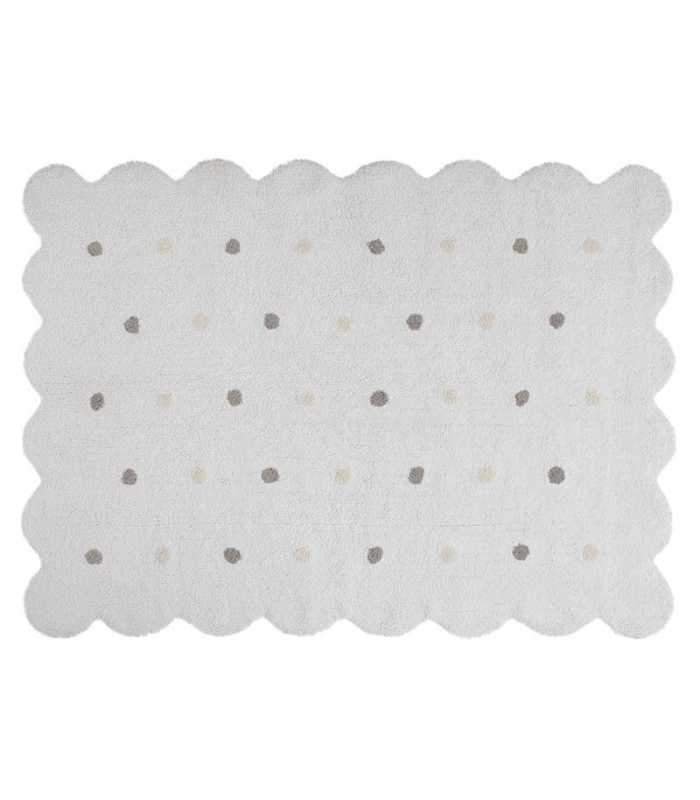 Lorena Canals Galleta Biscuit White Rug
