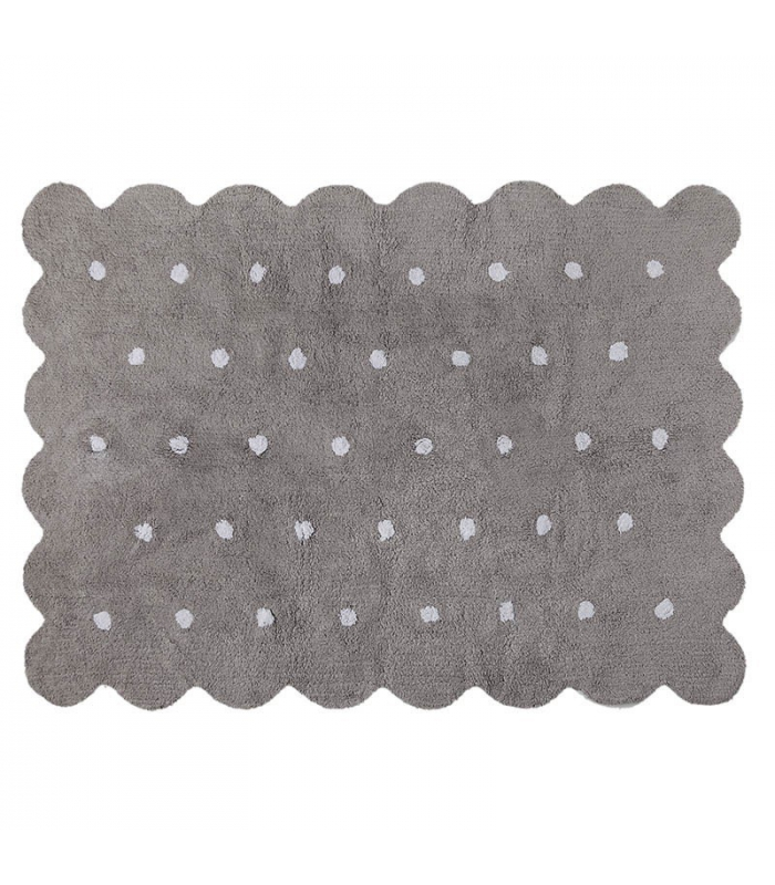 Lorena Canals Galleta Biscuit Rug, Grey