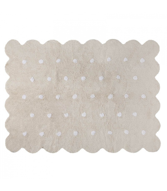 Lorena Canals Galleta Biscuit Rug, Beige