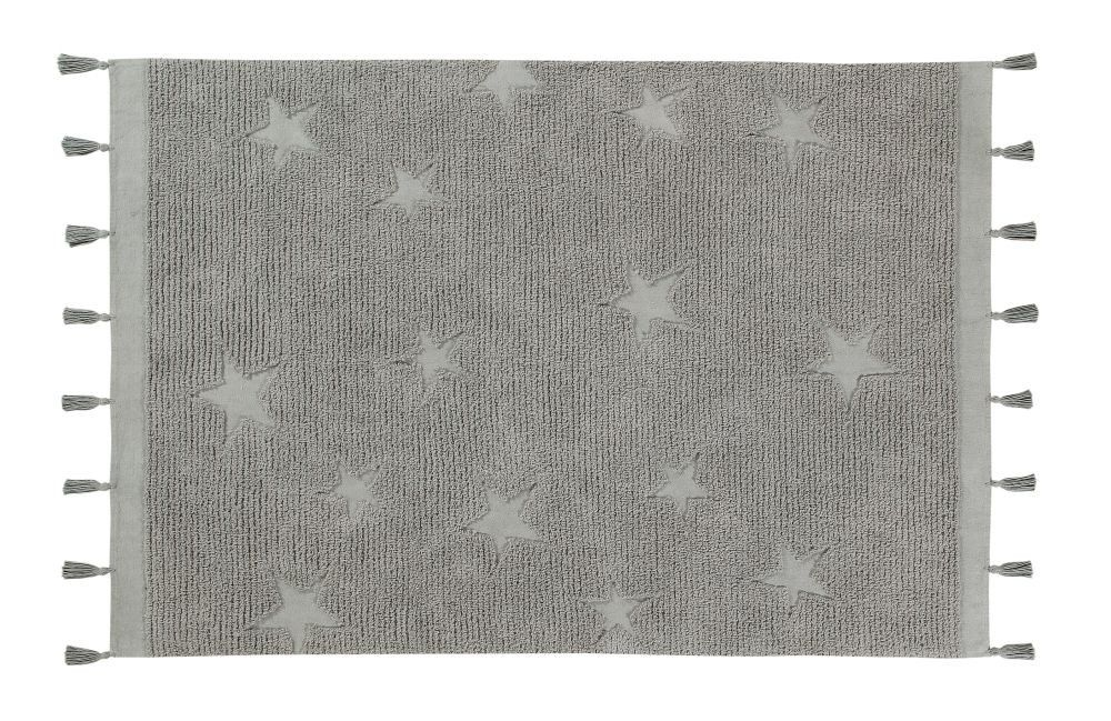 Lorena Canals Hippy Stars Rug - Grey