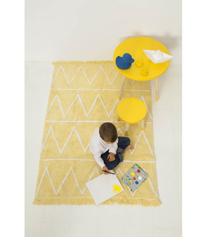Lorena Canals Hippy Yellow Rug