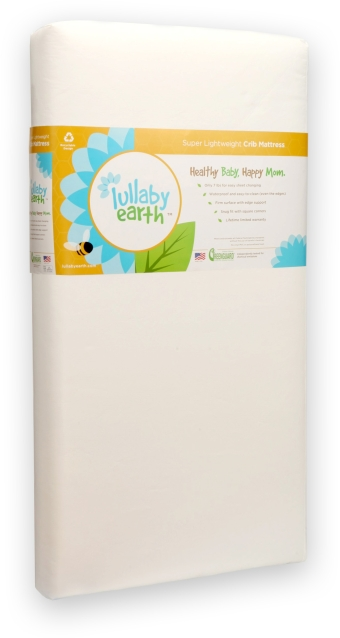 Lullaby Earth Super Lightweight Crib Mattress