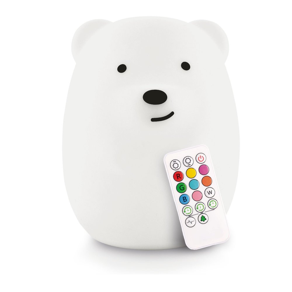LumiPets Silicone Baby Night Light - Bear