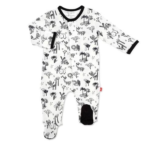 Magnetic Me Animal Safari Magnetic Footie - 12-18 Months