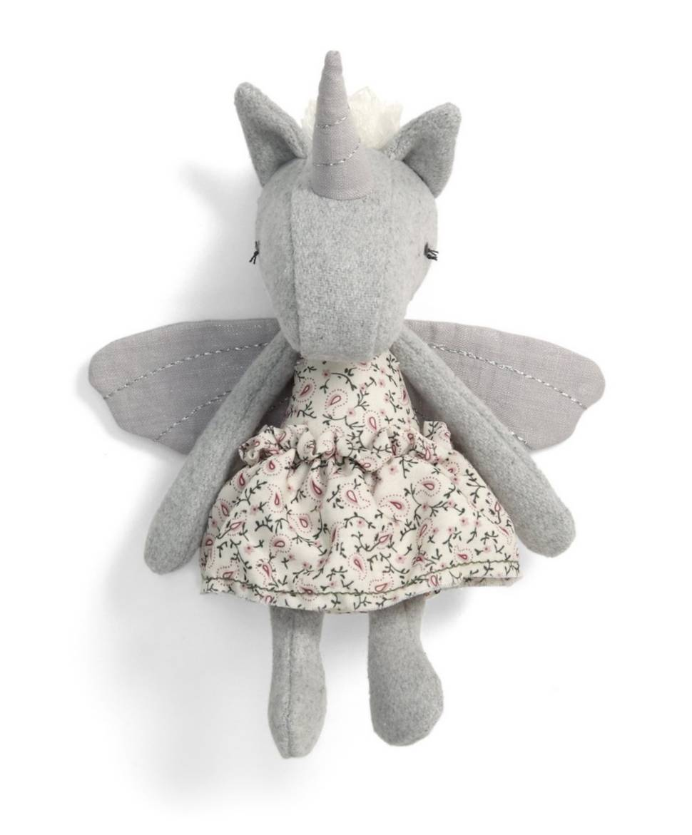 Mamas and Papas Soft Chime Toy - Unicorn