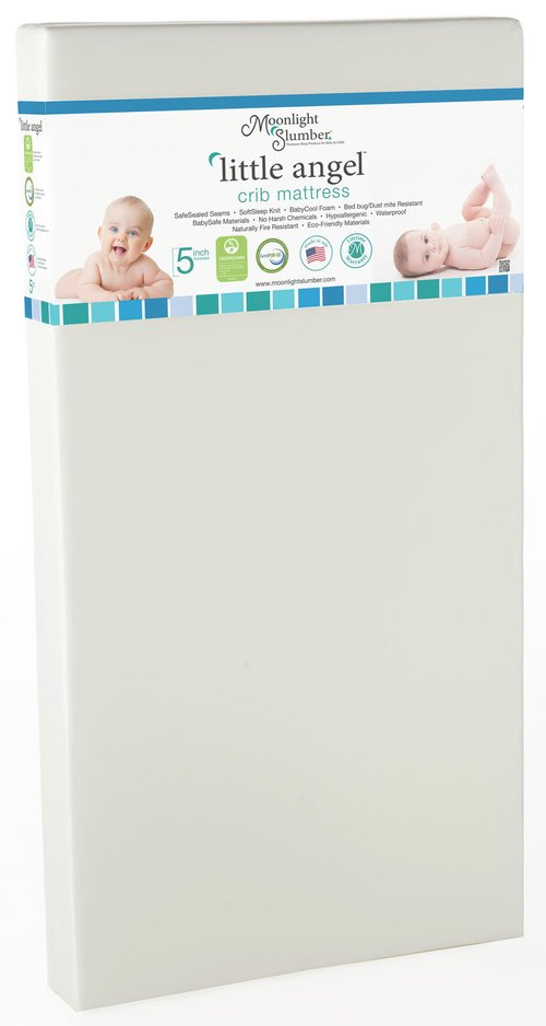 Moonlight Slumber Little Angel Foam Crib Mattress