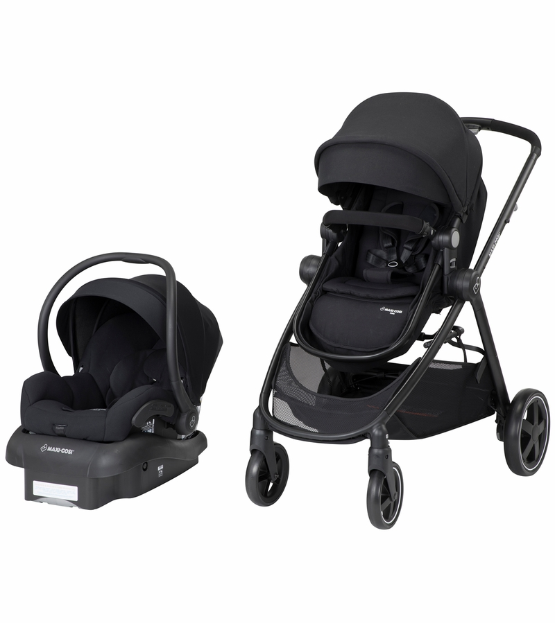 Maxi Cosi Adorra Travel System - Night Black