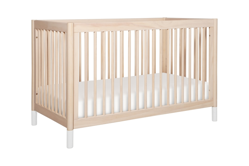 BabyLetto Gelato 4-in-1 Convertible Crib - Washed Natural
