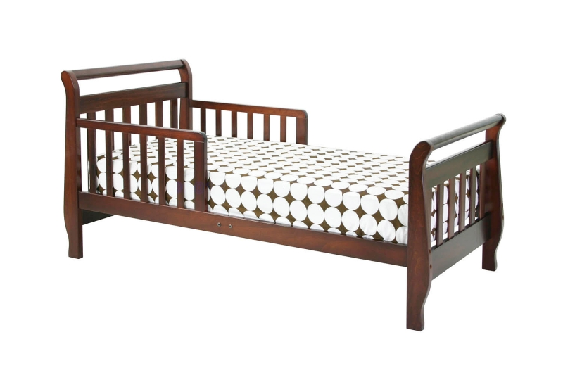 Million Dollar Baby DaVinci Sleigh Toddler Bed, Cherry
