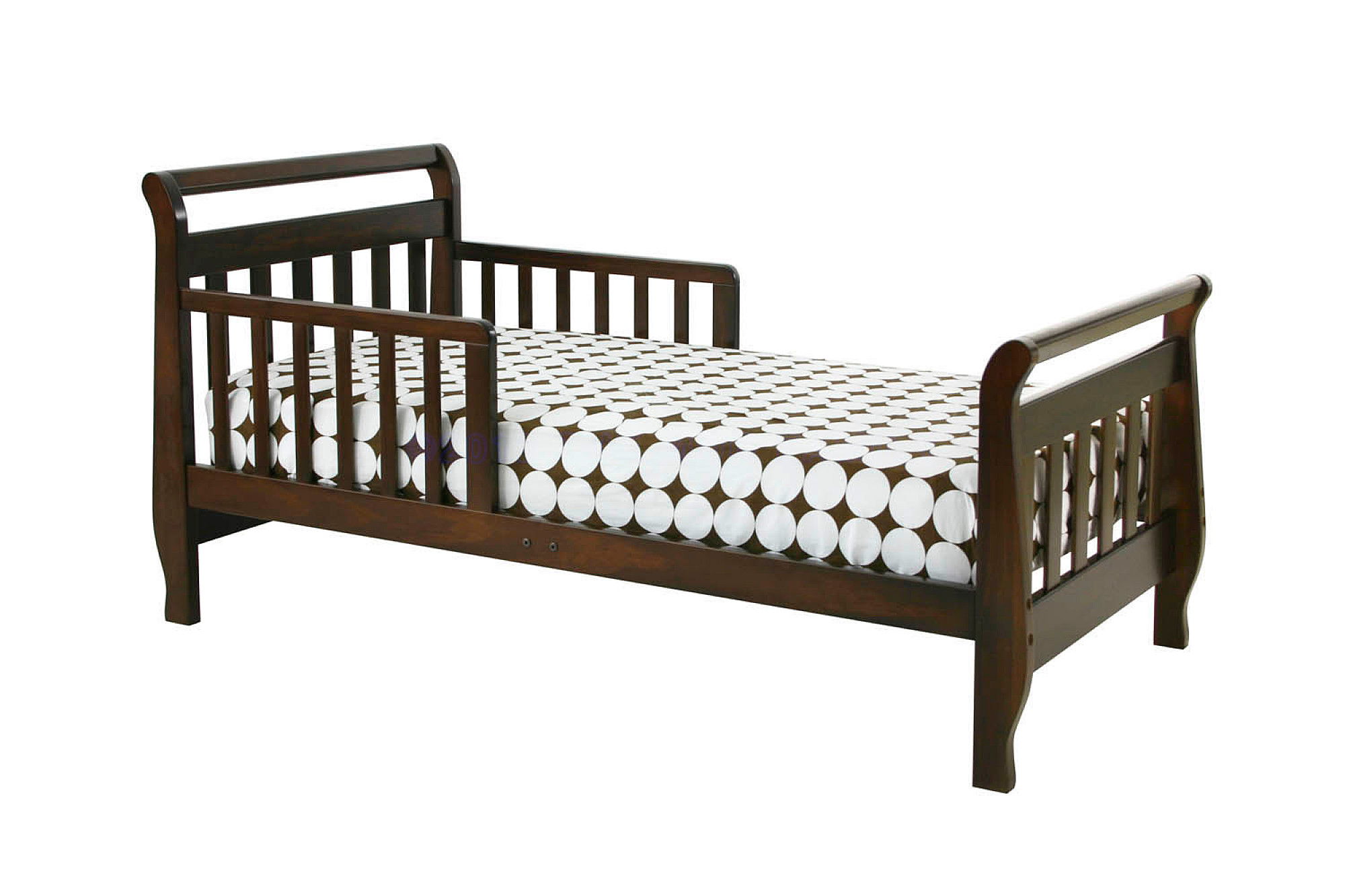Million Dollar Baby DaVinci Sleigh Toddler Bed, Espresso