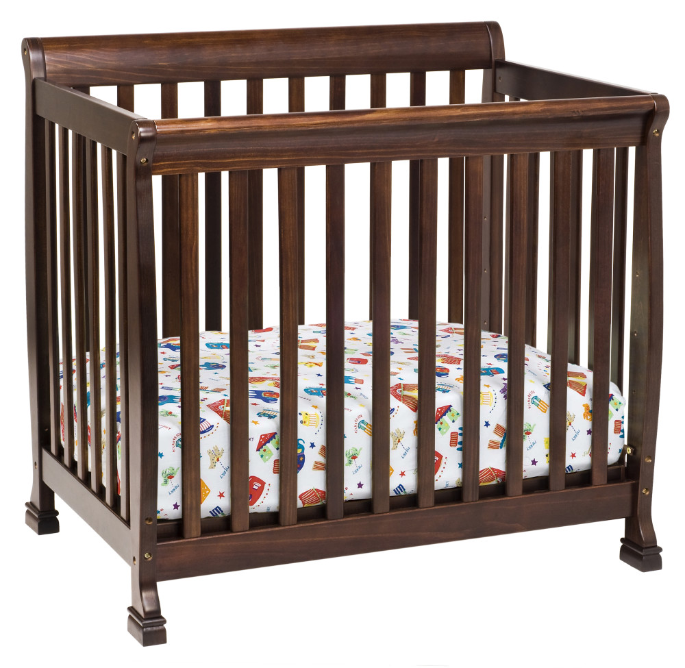 DaVinci Kalani Mini Crib - Espresso - Destination Baby & Kids