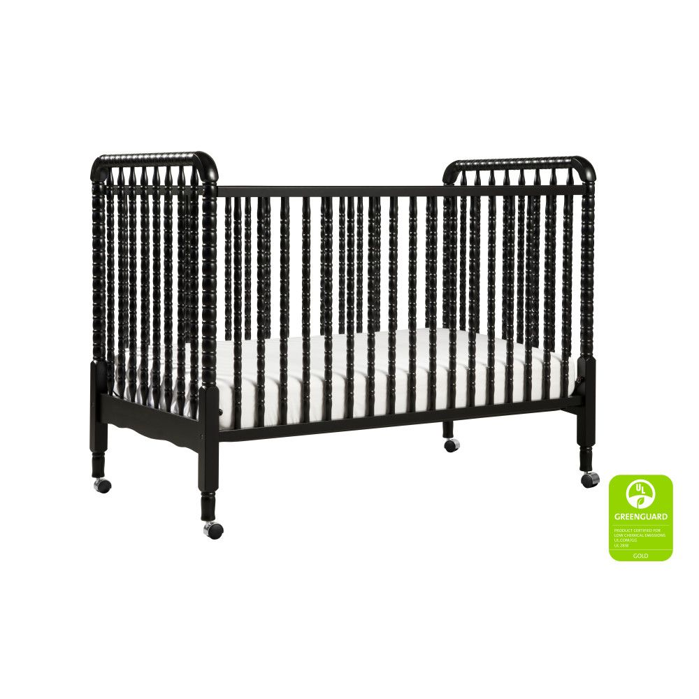 Million Dollar Baby DaVinci Jenny Lind Crib - Black