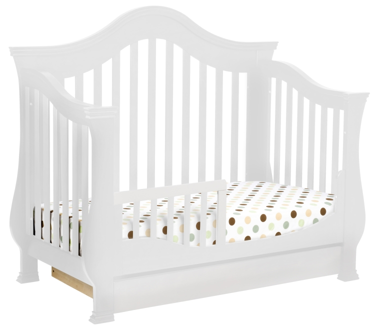 Million Dollar Baby Ashbury 4-in-1 Crib - White
