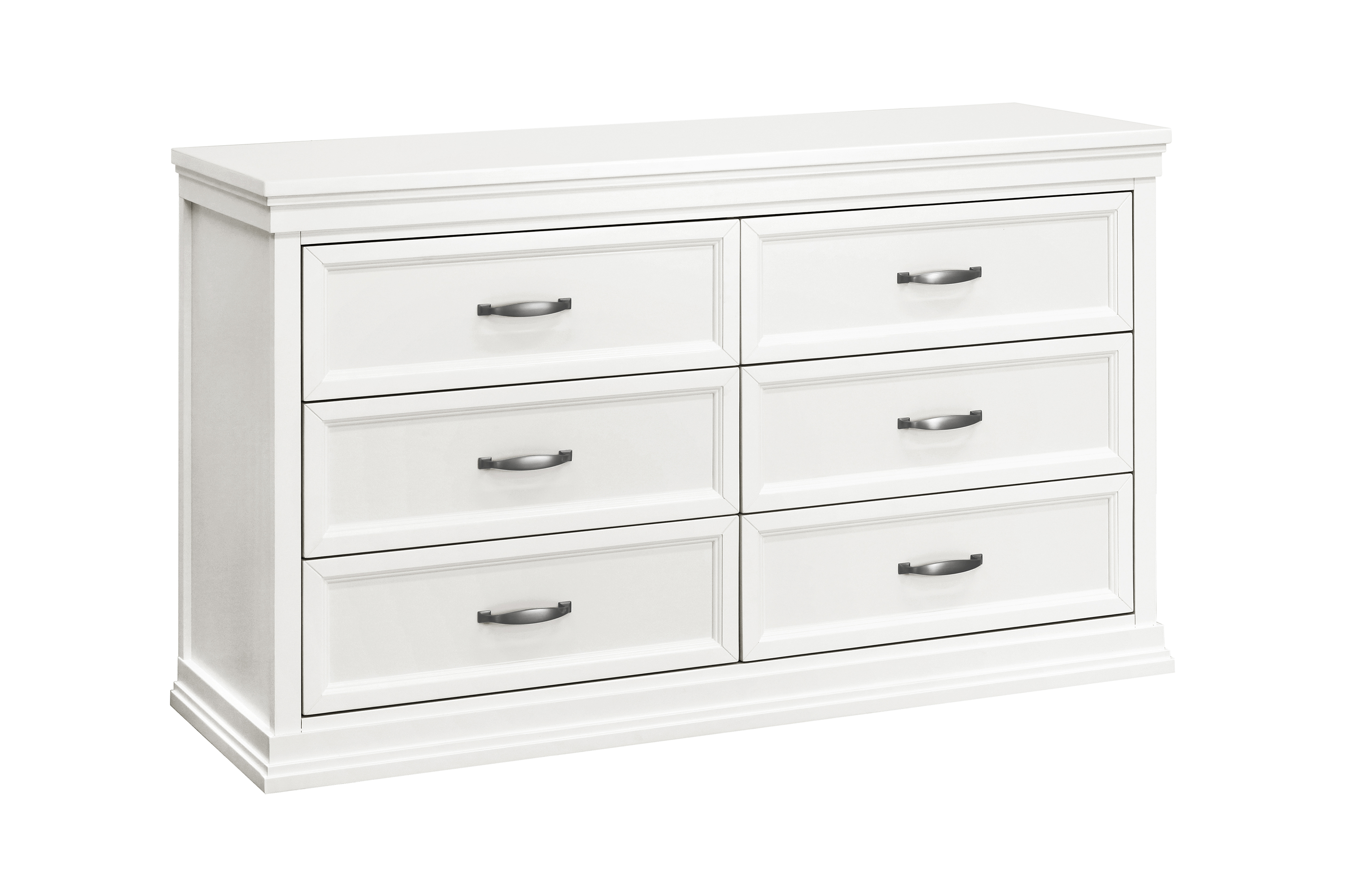 Franklin and Ben Langford 6 Drawer Dresser - Warm White