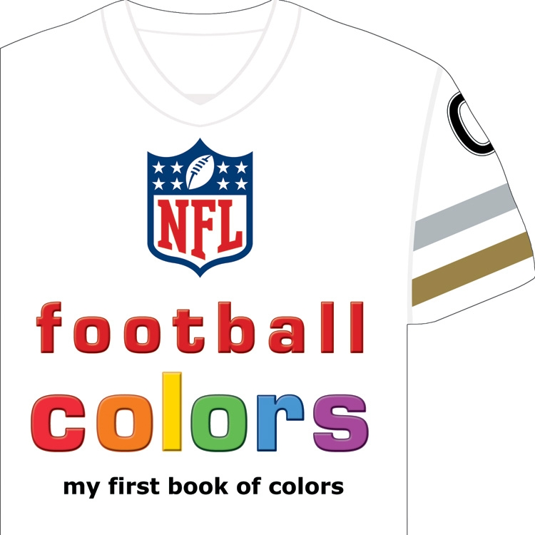Michaelson Entertainment NFL Football Colors Book