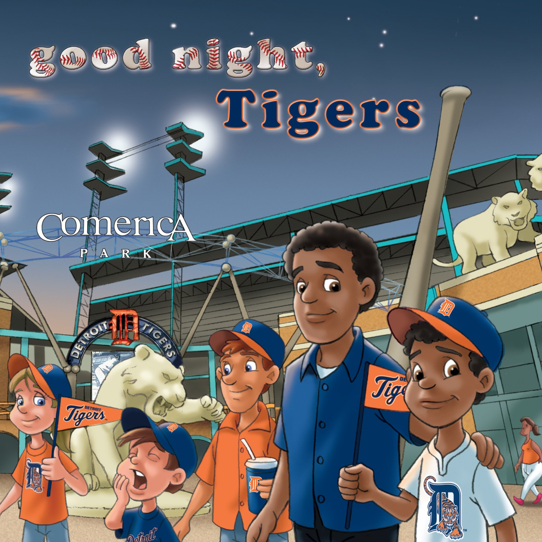 Michaelson Entertainment Goodnight, Tigers Book