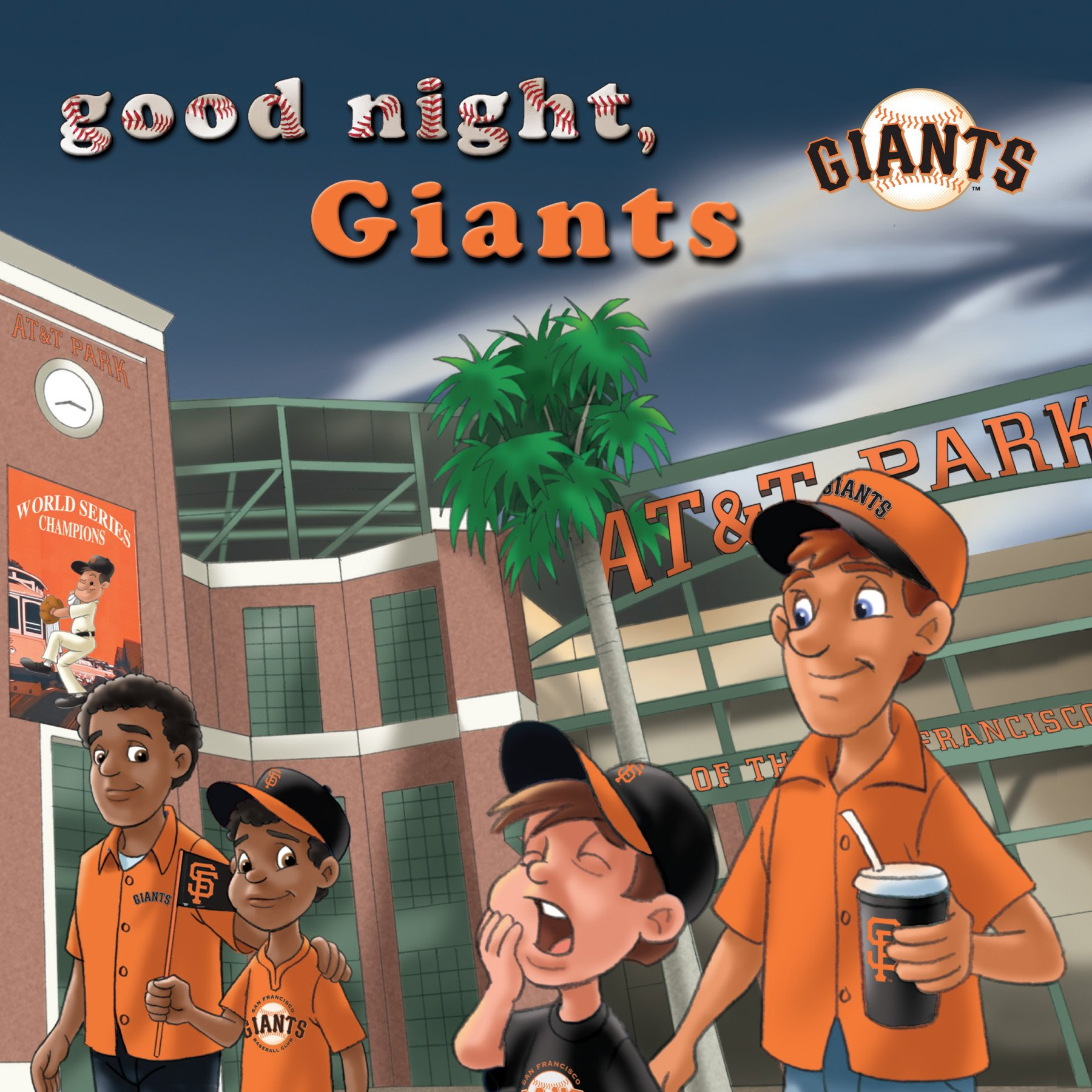 Michaelson Entertainment Goodnight, Giants Book