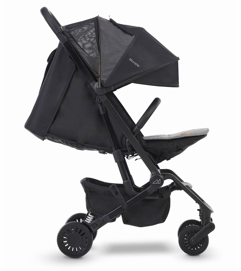 Micralite ProFold Compact Lightweight Stroller in Carbon