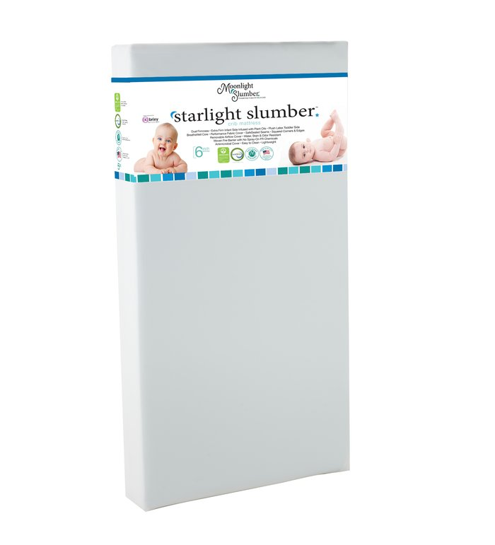 Moonlight Slumber Starlight Slumber Crib Mattress w/ Latex