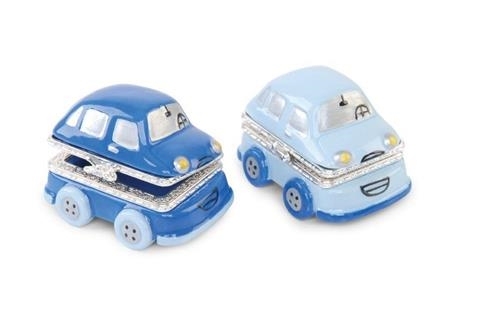 Mud Pie Prince Car Tooth and Curl Treasure Box