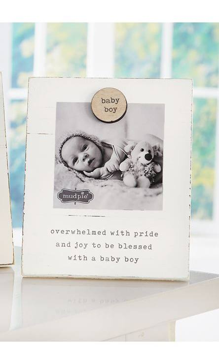 Mud Pie Baby Boy Magnetic Frame