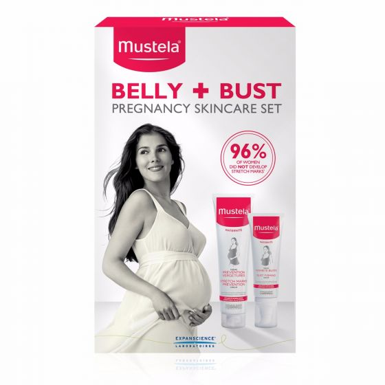 Mustela Pregnancy Belly & Bust Set