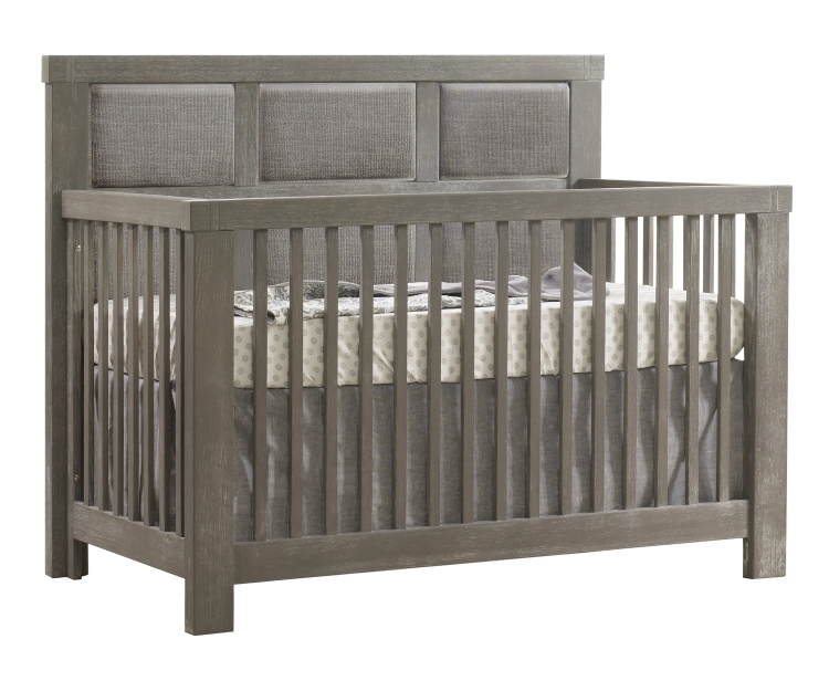 Natart Rustico Convertible Crib with Fog Panel, Owl
