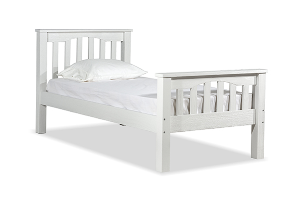 NE Kids Highlands Harper Twin Bed - White