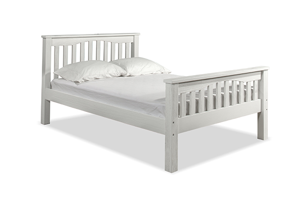 NE Kids Highlands Harper Full Bed - White