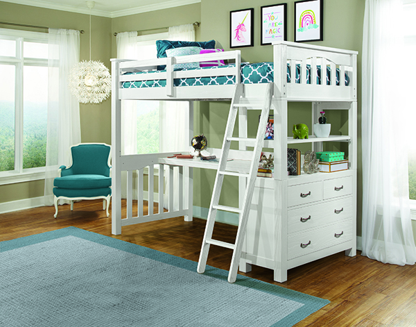 Twin Loft Bed.Ne Kids Highlands Twin Loft Bed With Desk White