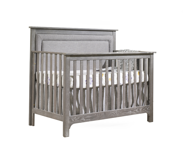 Nest Emerson Convertible Crib with Upholstered Headboard