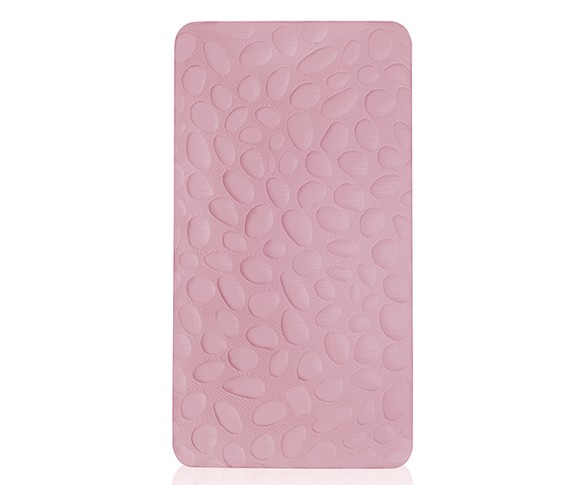 Nook Pebble Lite Crib Mattress - Blush