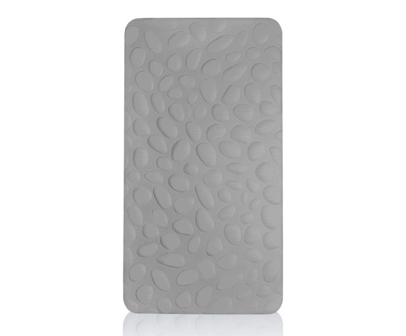 Nook Sleep Pebble Pure Crib Mattress - Misty Grey