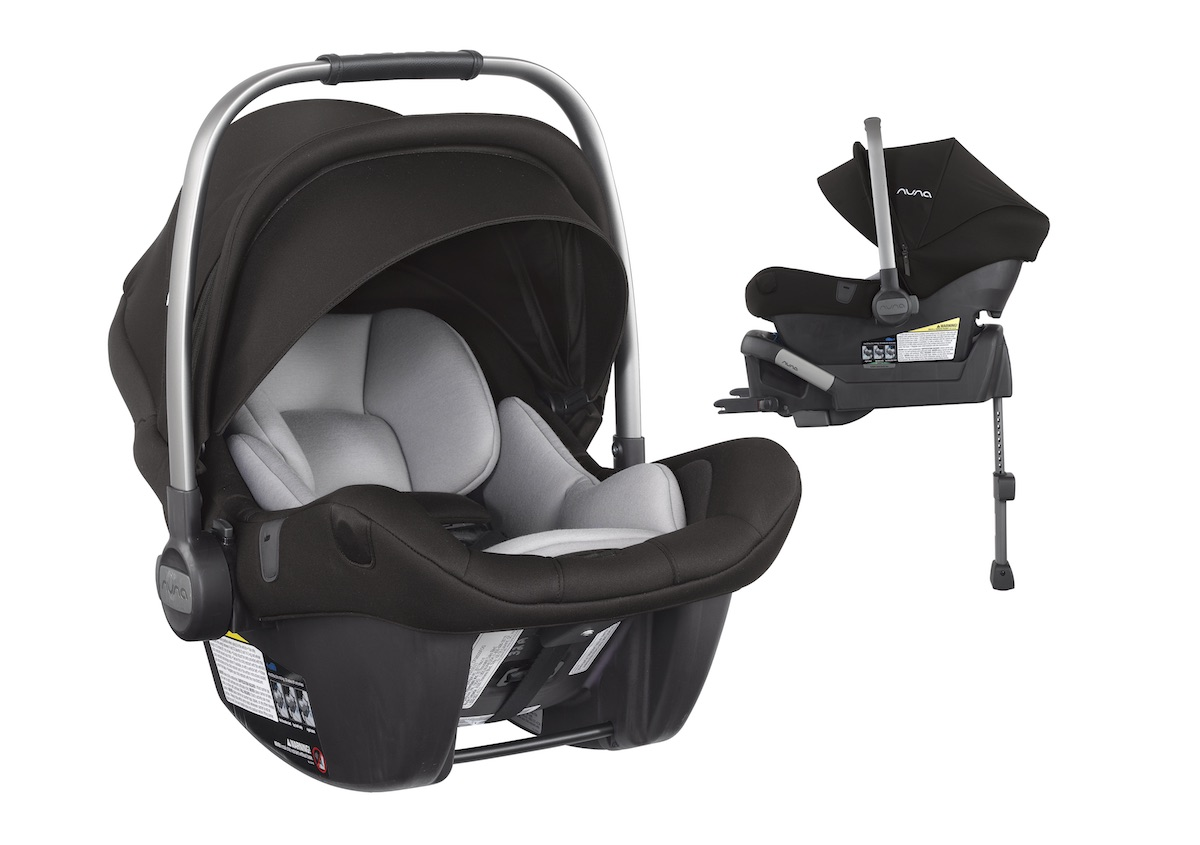 NUNA PIPA lite LX with base - Caviar
