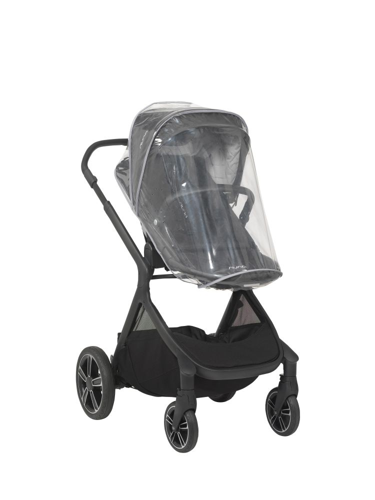 Nuna Demi Grow Stroller with Bassinet - Caviar