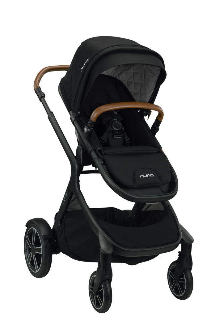 Nuna Demi Grow Stroller with MagneTech Secure Snap - Caviar