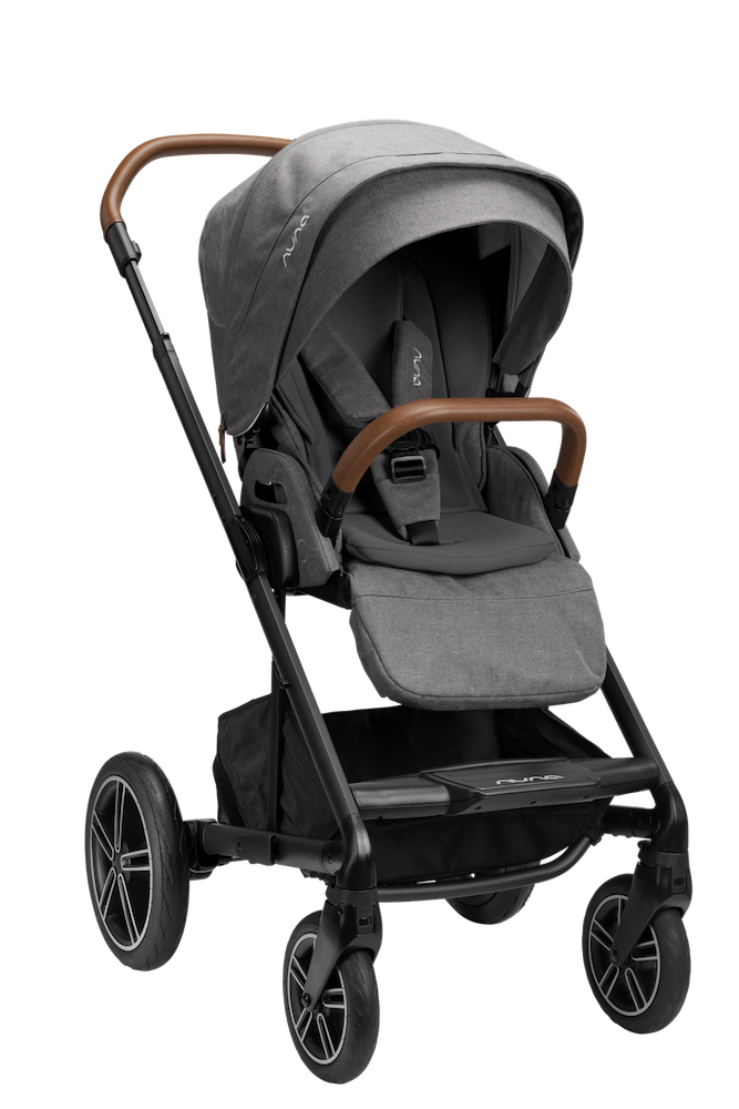 NUNA Mixx Next Stroller w/ Magnetic Buckle - Granite