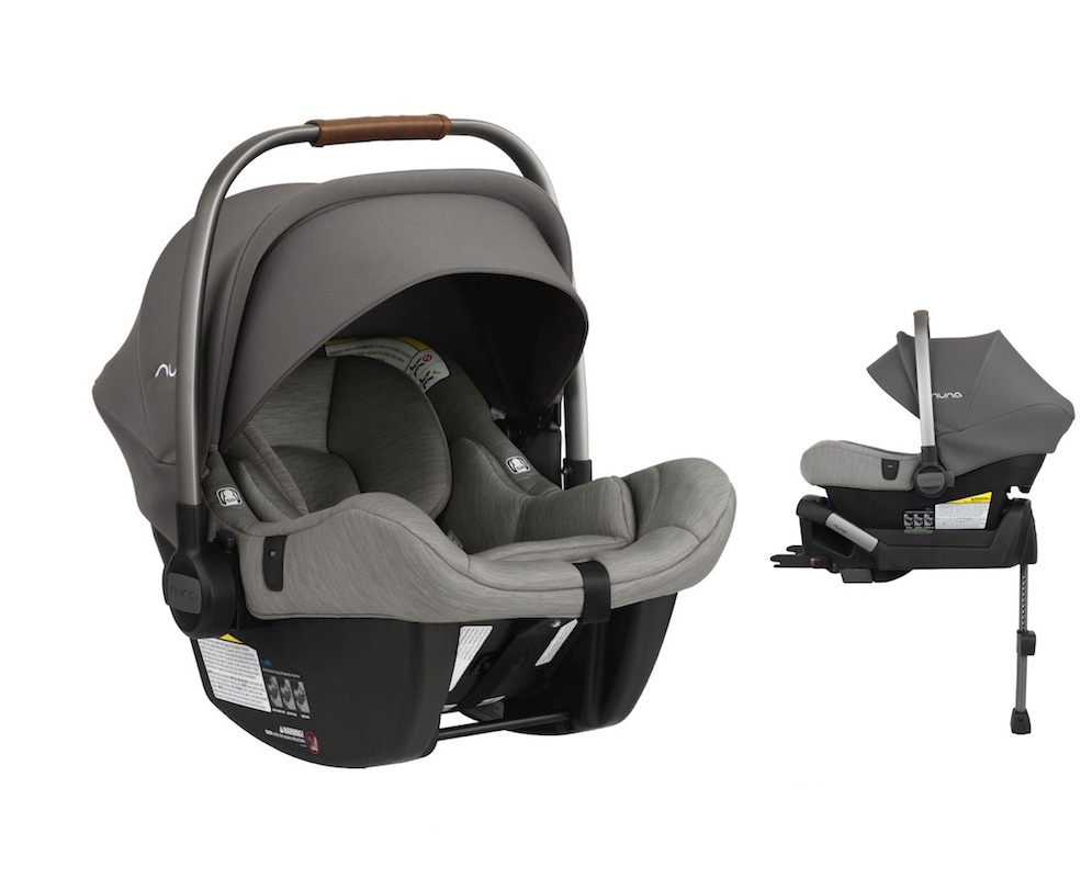 NUNA 2019 Pipa Lite Infant Car Seat + Base in Granite