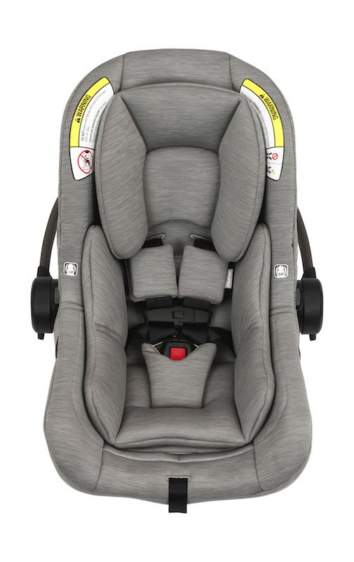 NUNA Pipa Lite Infant Car Seat + Base in Granite