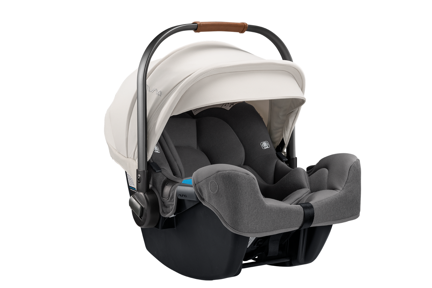 NUNA PIPA rx Infant Car Seat + RELX Base - Birch