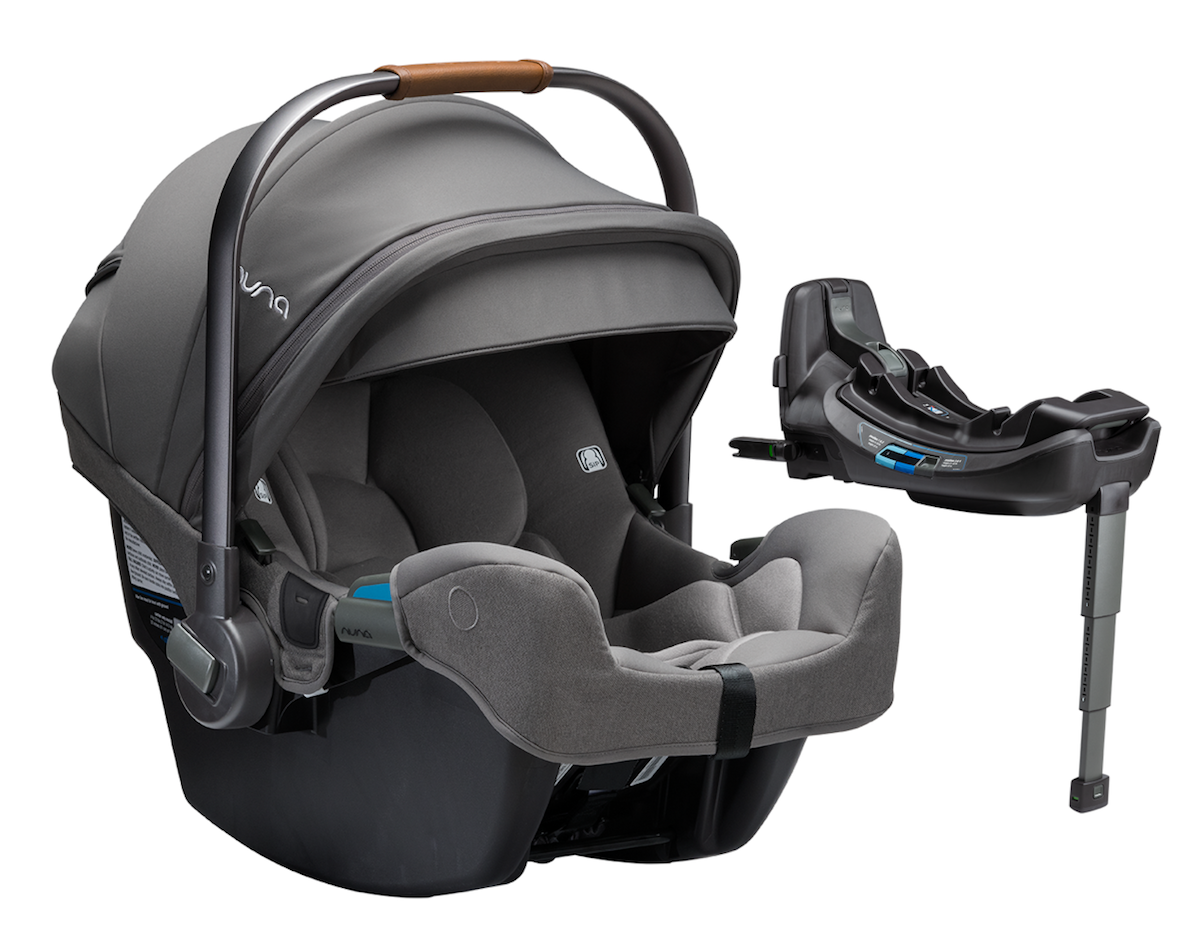 NUNA PIPA rx Infant Car Seat + RELX Base - Granite