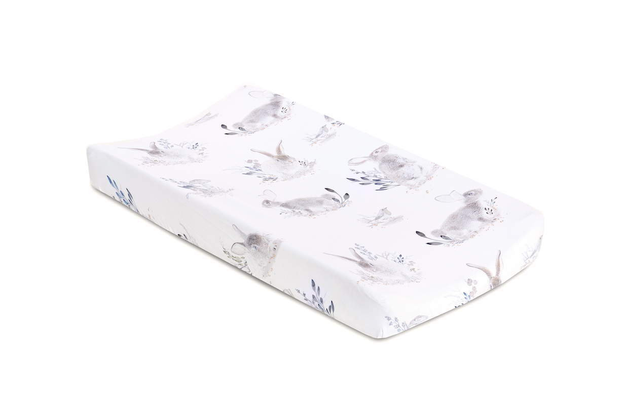 Oilo Studio Cottontail Jersey Changing Pad Cover