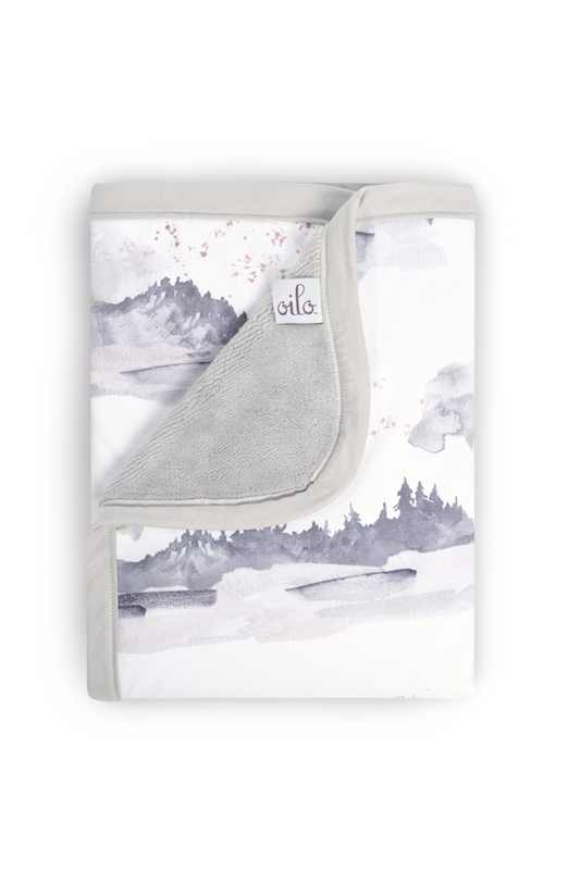 Oilo Studio Misty Mountain Cuddle Blanket