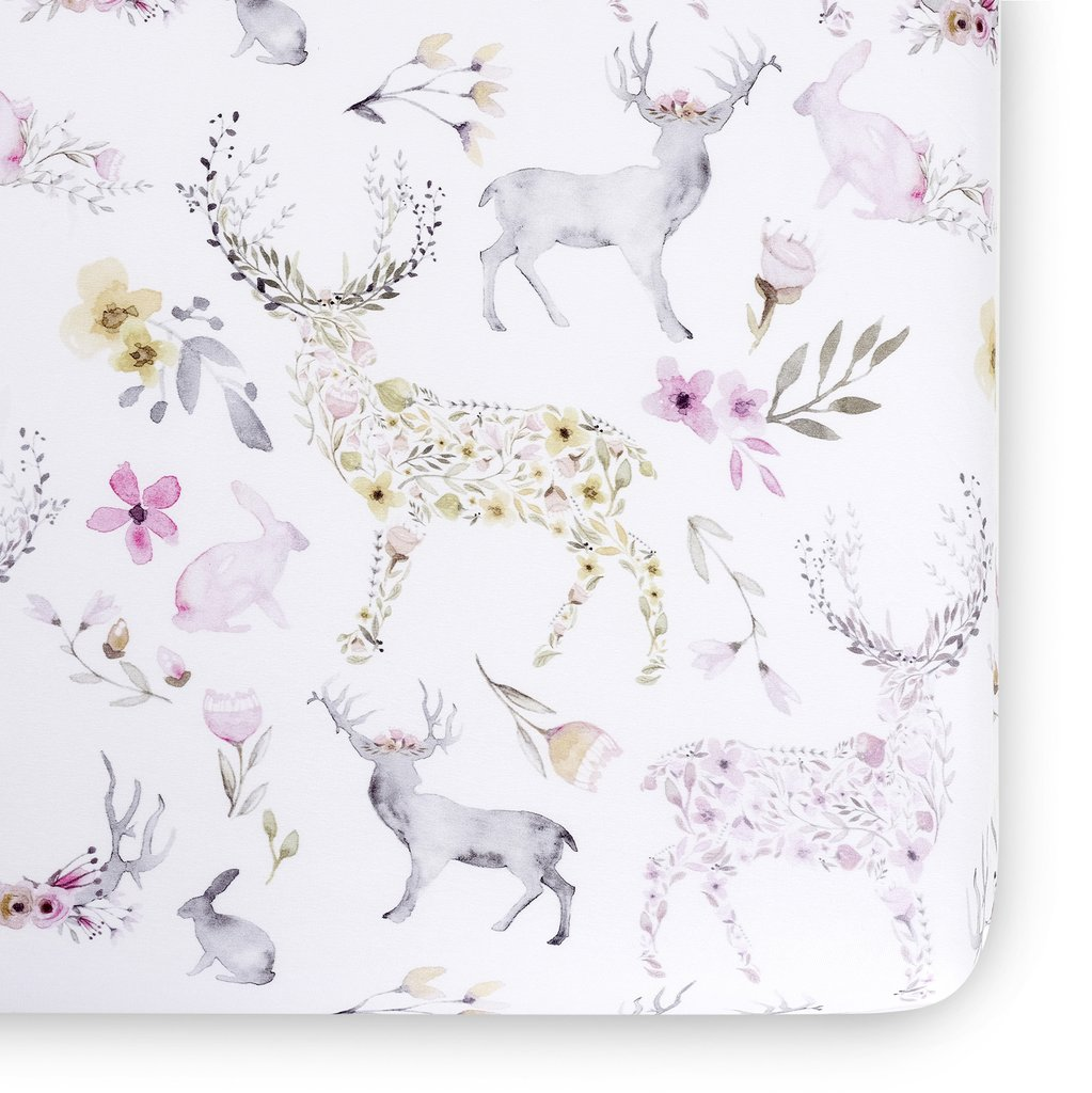 Oilo Crib Sheet Fawn