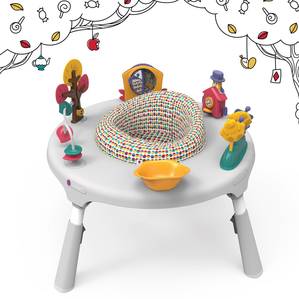 Oribel PortaPlay Wonderland 4-in-1 Foldable Activity Center