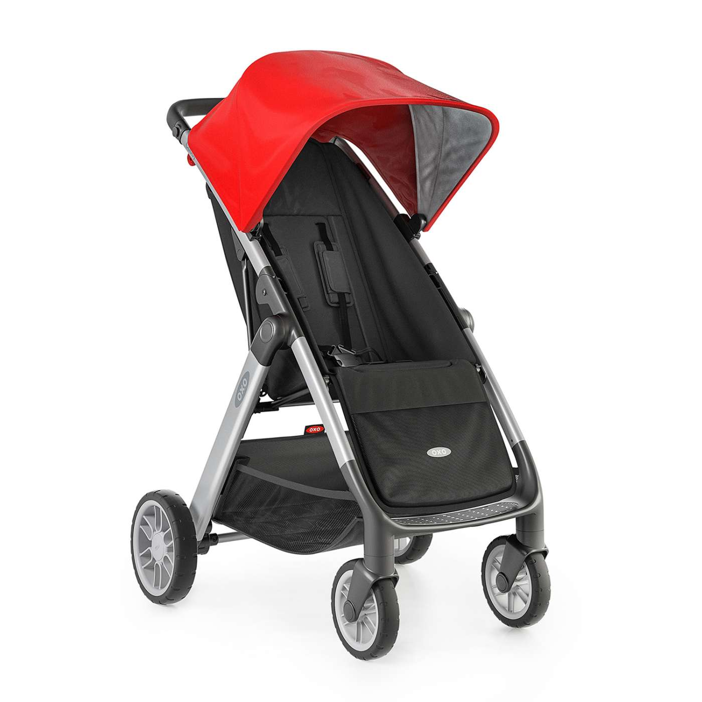 OXO Tot Cubby Stroller Red