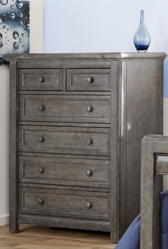 Pali Cristallo 5 Drawer Chest